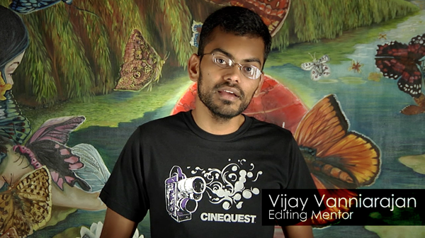 Editing - Vijay Rajan shows the dynamics of editing and how to use the Adobe Premiere CS5 Software.
