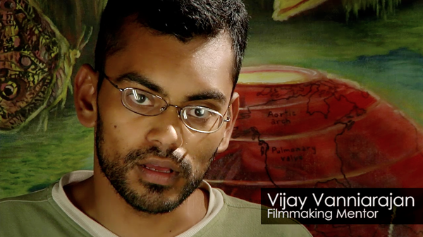 Filmmaking - Vijay Rajan covers the fundamentals of effective filmmaking: camera, lighting, angles, sound and more.
