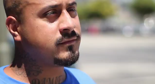 "Right Here Among Us - An inspirational portrait of leadership transforming traumatized lives. Homeboy Industry paves the way to a brighter future. Built on the philosophy ""Nothing stops a bullet like a job,"" watch this organization's remarkable success in helping gang members through compassion and work."