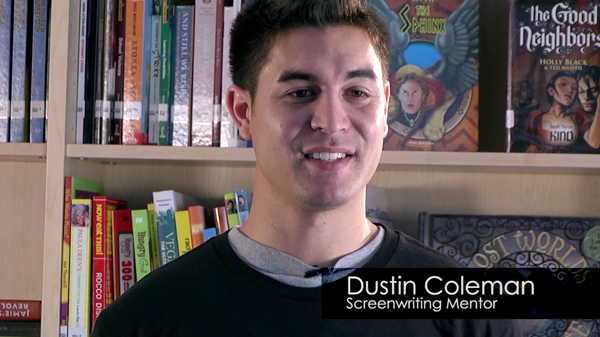Screenwriting - Dustin Coleman teaches the keys of screenwriting: See It, Hear It, Feel It.