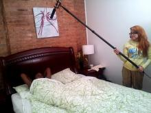 Servitude Behind The Scenes Laying In Bed